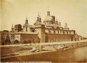 J. Laurent: Vista del Pilar de Zaragoza. Fondo IPHE.