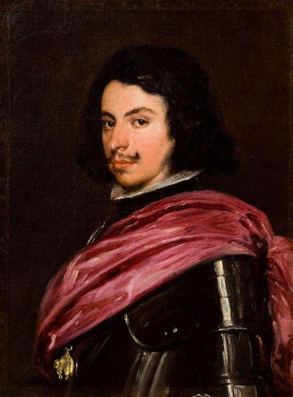 Diego Rodríguez de Silva y Velázquez: Retrato de Francesco I D'Este, duque de Módena, 1638. Galleria Estense, Módena.