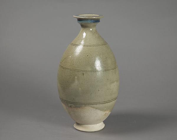Botella de la dinastía Sui, siglo VI d.c. Metropolitan Museum New York.