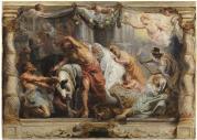 Pedro Pablo Rubens: La victoria de la Eucaristía sobre la Idolatría. Madrid, Museo Nacional del Prado.