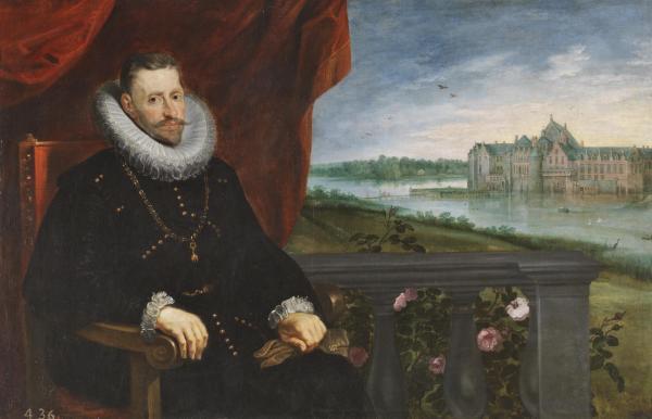 Pedro Pablo Rubens y Jan Brueghel el viejo: El Archiduque Alberto de Austria. Madrid, Museo Nacional del Prado.