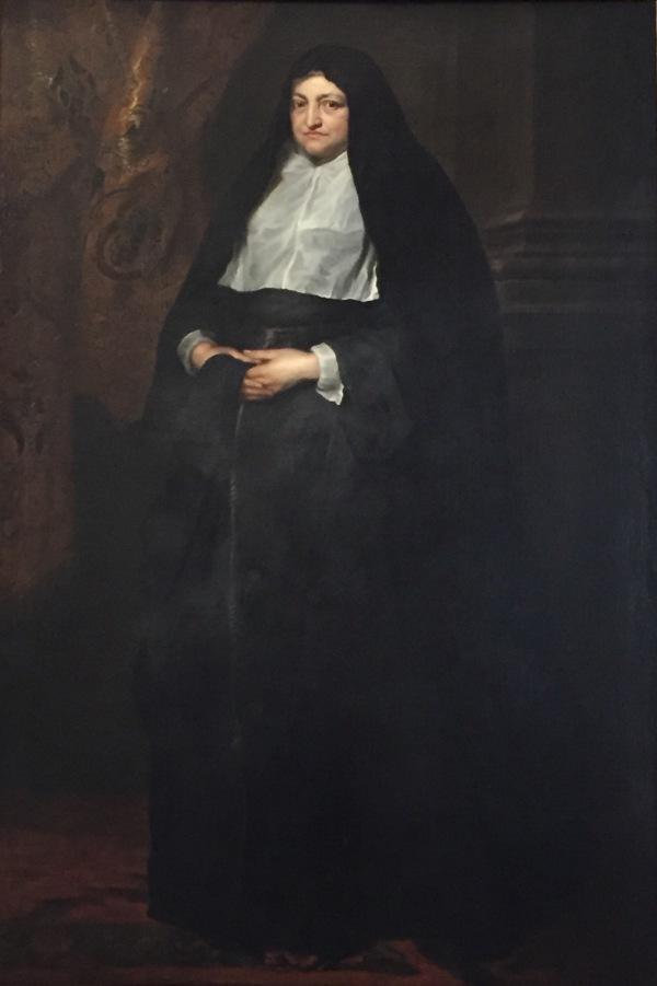Anton Van Dyck: La Archiduquesa Isabel Clara Eugenia, gobernadora de los Países Bajos. Turín, Galleria Sabauda.