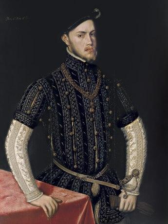 Antonio Moro: Retrato del rey Felipe II. Bilbao, Museo de Bellas Artes.
