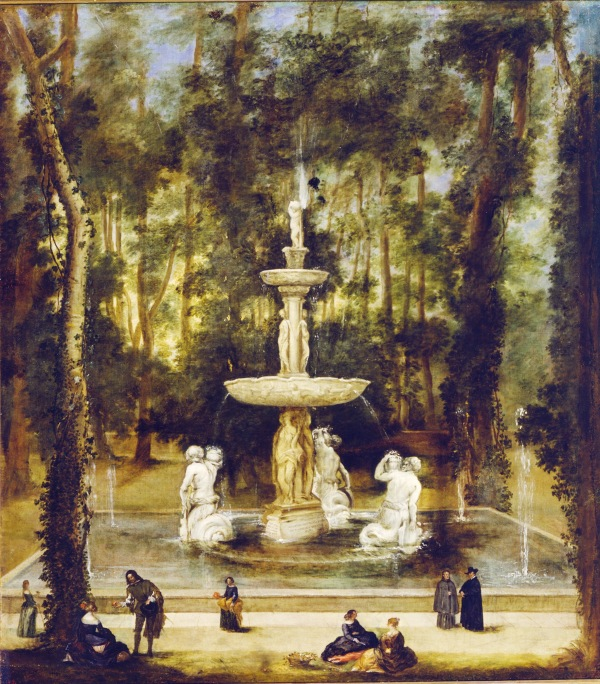 Benito Manuel de Agüero: Fuente de los Tritones en Aranjuez. Madrid, Museo Nacional del Prado.