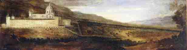 Benito Manuel de Agüero: Vista de El Escorial. Madrid, Museo Nacional del Prado.