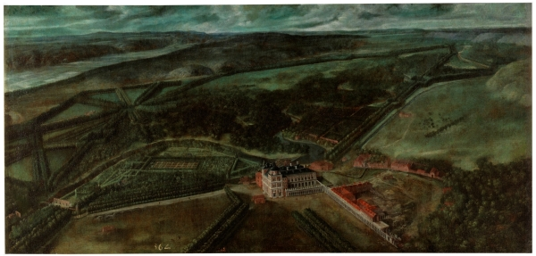 Anónimo: Vista de Aranjuez, ca. 1636. Madrid, Museo Nacional del Prado.