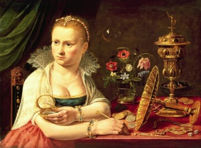 Clara Peeters. Alegoría de la Vanidad. Colección Privada. Foto: wikicommons