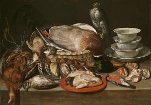 Clara Peeters: Bodegón de aves, 1611. Museo del Prado.