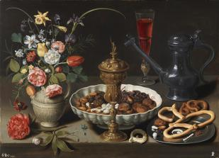 Clara Peeters: Mesa, 1611. Museo del Prado.