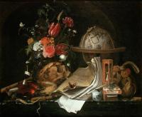 Maria van Oosterwijck: Vánitas, 1668. Kunsthistoriches Museum. Viena.