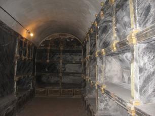 Antiguo panteón de infantes. Monasterio del Escorial. Foto: Cipripedia.