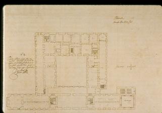 Juan Gómez de Mora: Proyecto para la Planta alta del Palacio Real de Aranjuez, 1626.