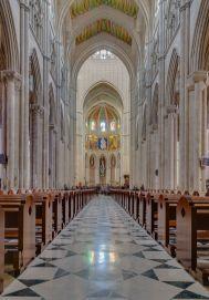 Catedral de la Almudena. Interior. Foto: wikipedia.