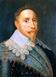 Anónimo: Retrato del rey Gustavo II Adolfo de Suecia.