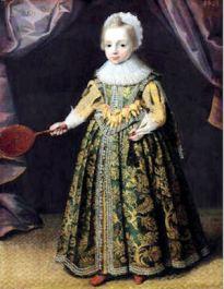 Anónimo: La reina Cristina de Suecia a los 6 años de edad, ca. 1632.