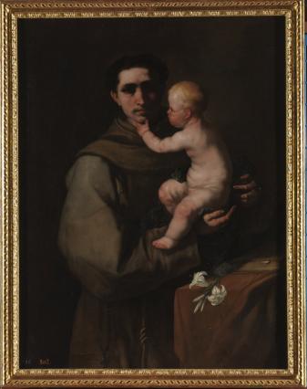 Luca Giordano: San Antonio de Padua. Museo Nacional del Prado.
