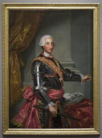 Anton Rafael Mengs: Retrato de Carlos III. Museo Nacional del Prado.