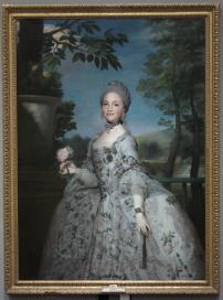 Anton Rafael Mengs: María Luisa de Parma, como princesa de Asturias. Museo Nacional del Prado.