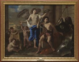 Nicolas Poussin: El triunfo de David. Museo Nacional del Prado.