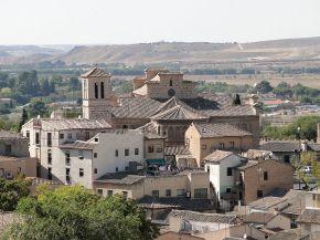 Vista general de Santiago del Arrabal.