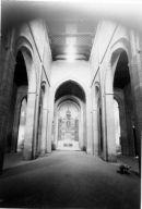 Interior de la Iglesia de Santiago del Arrabal en 1950. Foto: Biblioteca Digital de Castilla la Mancha.