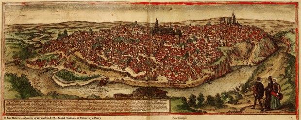 Civilates orbis terrarum de Braun and Hogenberg Publicado en 1572.