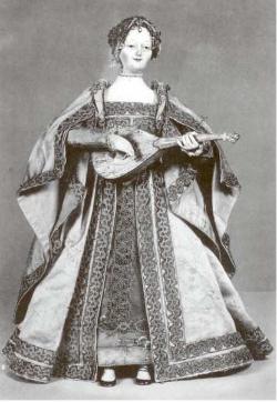 Juanelo Turriano: Autómata musical de una dama de la corte española con laúd. Kunsthistorisches Museum de Viena.