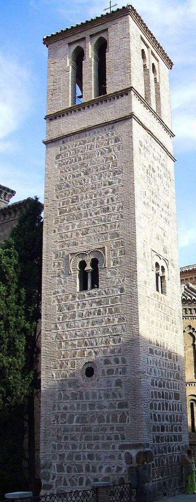 Torre de la Iglesia de Santiago del Arrabal. Fogo: Wikimedia Commons.