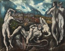 El Greco: Laocoonte y su hijos. Washington, National Gallery of Art.
