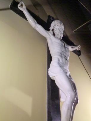 Benvenuto Cellini. Cristo Crucificado (detalle). ca. 1556-1562.