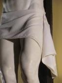 Benvenuto Cellini. Cristo Crucificado (detalle del paño). ca. 1556-1562.