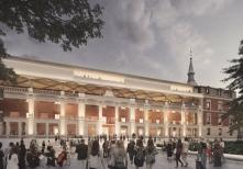 Foster y Rubio: Proyecto ganador para la reforma del Salón de Reinos. Foto: Museo del Prado.