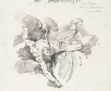 Jean-Honoré Fragonard: Ticio, copia del de Tiziano. Pasadena, The Norton Simon Foundation.