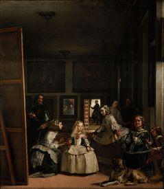 Diego de Silva y Velázquez: Las Meninas. Madrid, Museo Nacional del Prado.