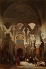 David Roberts: Interio de la Mezquita de Córdoba. 1838. Foto: Museo del Prado.
