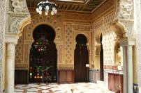 Manuel Castaño: Sala árabe. Casino de Murcia. Foto: wikipedia.