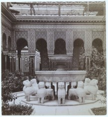 Alhambra Court en el Cristal Palace.