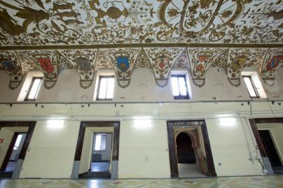 Salón de Reinos y acceso a la sala árabe. Foto: Museo Nacional del Prado.