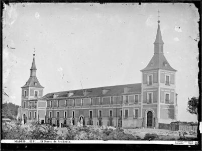Jean Laurent: El Museo del Ejército. Foto: Archivo Ruiz-Vernacci (IPCE)