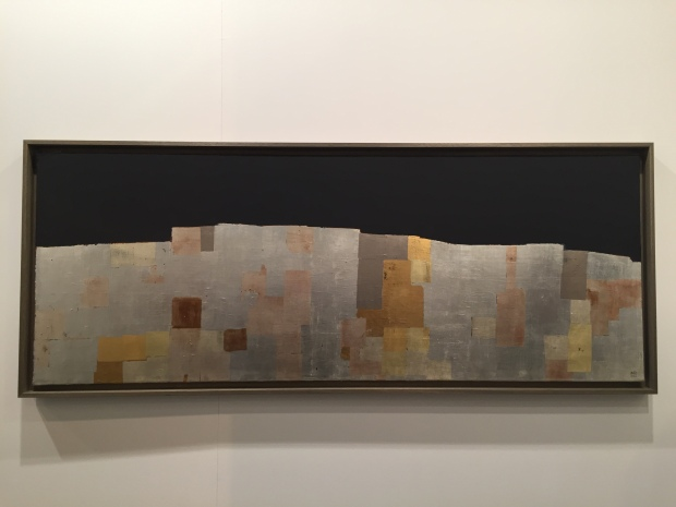 Anna-Eva Bergman: Long mur vertical, 1962. Galerie Jerome Poggi. Foto Investigart.