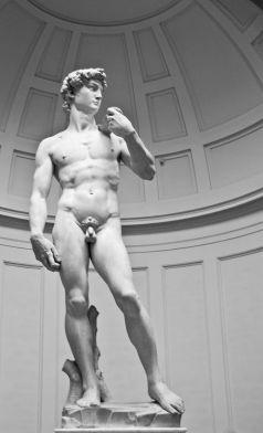 Miguel Ángel: David. Florencia, Galería de la Academia. Foto: Wikimedia Commons.