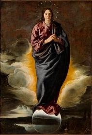 Diego Velázquez: Inmaculada Concepción. Sevilla, Fundación Focus Abengoa.