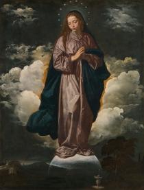 Diego Velázquez: Inmaculada Concepción. Londres, National Gallery.