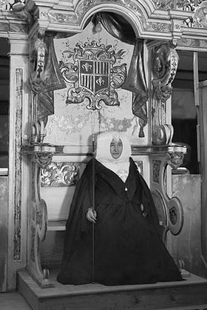Imagen de la Priora de Sijena. Foto: Fototeca de Huesca.