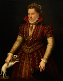Lavinia Fontana: Retrato de mujer noble. Washington, National Museum of Women in Arts.