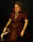 Lavinia Fontana: Retrato de mujer noble. Washington, National Museum of Women in Arts.
