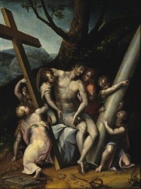 Lavinia Fontana: Cristo con los símbolos de la Pasión. El Paso Museum of Art.