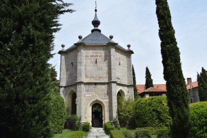 Templete de la fuente. Claustro Grande de la Cartuja del Paular