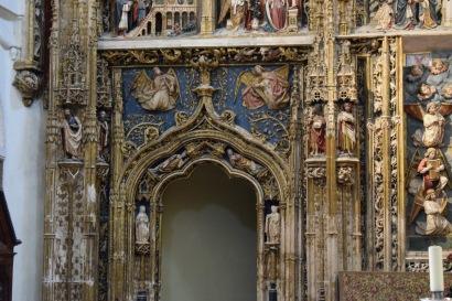 Detalle del retablo mayor