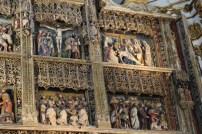 Detalles del retablo mayor.